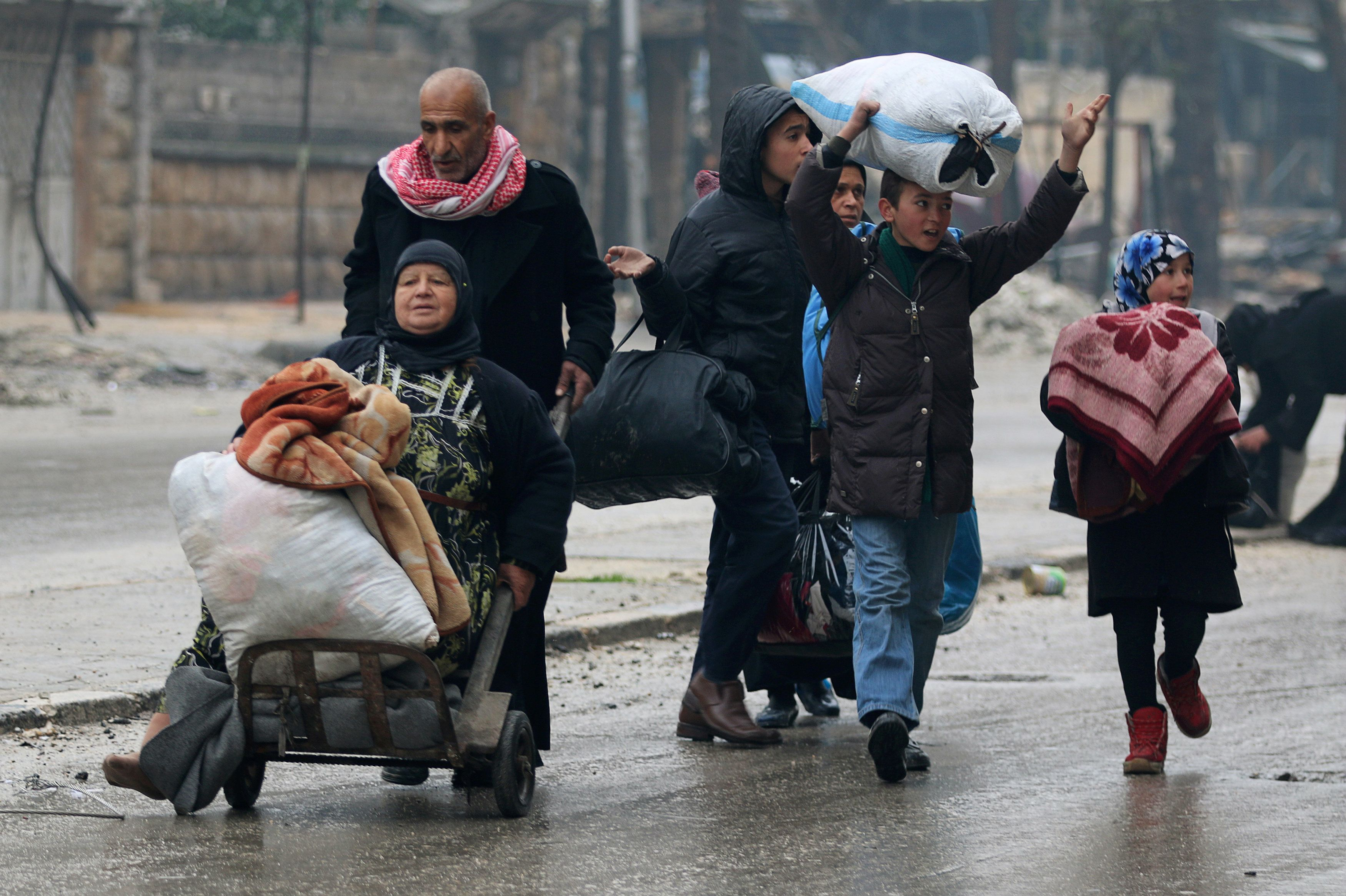 Desperate Syrians Fear For Their Lives As Aleppo