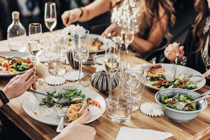 How to host a dinner party with dietary restrictions for Another word for decoration