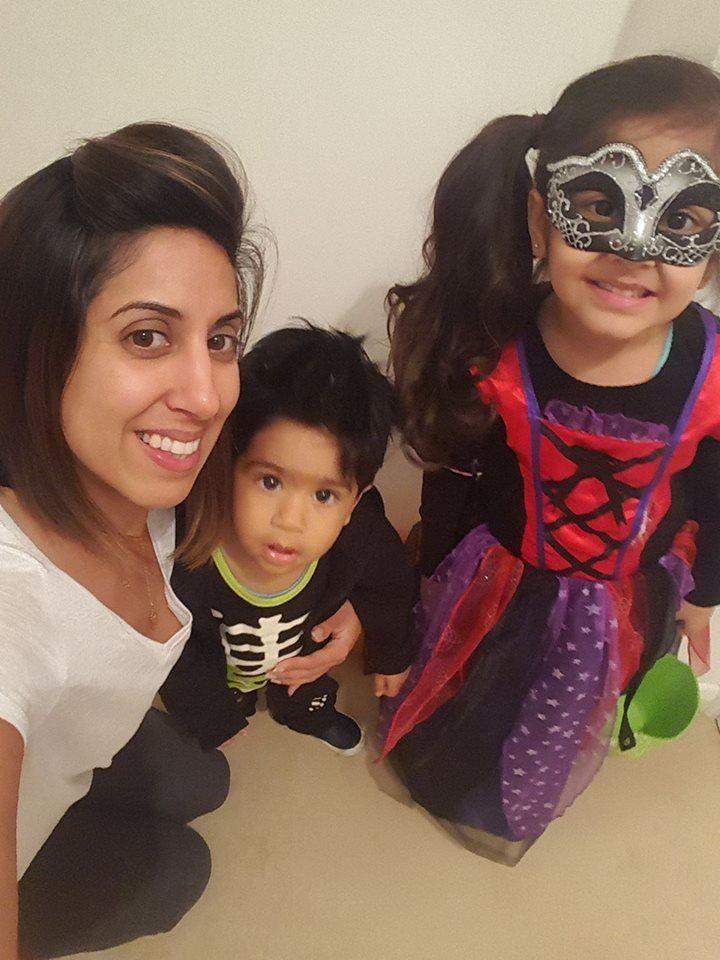 Zyleen and their adorable kiddos.