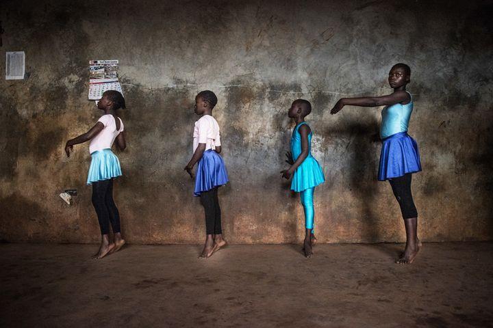 Fredrik Lerneryd spent a year and a half photographing ballet dancers in the Kibera neighborhood of Nairobi.