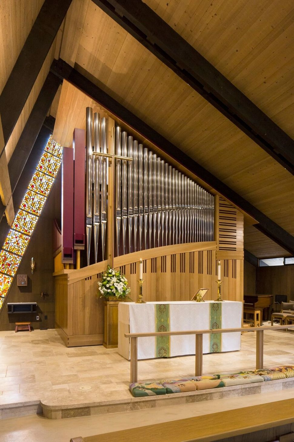 Dobson Pipe Organ Builders, Ltd.; Pipe Organ; St. Dunstan's Episcopal Church; Carmel Valley, California; Liturgical Fur