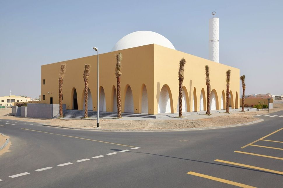 ibda design; Al Warqa'a Mosque; Dubai, United Arab Emirates; New Facilities; Photo: Sadao Hotta