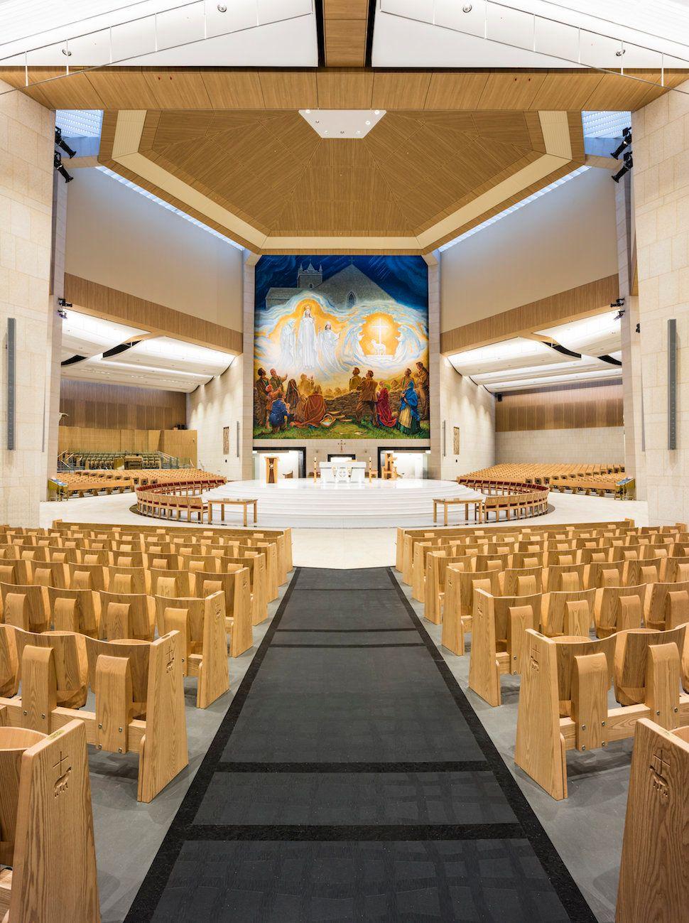 Wejchert Architects; Knock Basilica Interior Design; Knock, County Mayo, Ireland; Liturgical/Interior Design