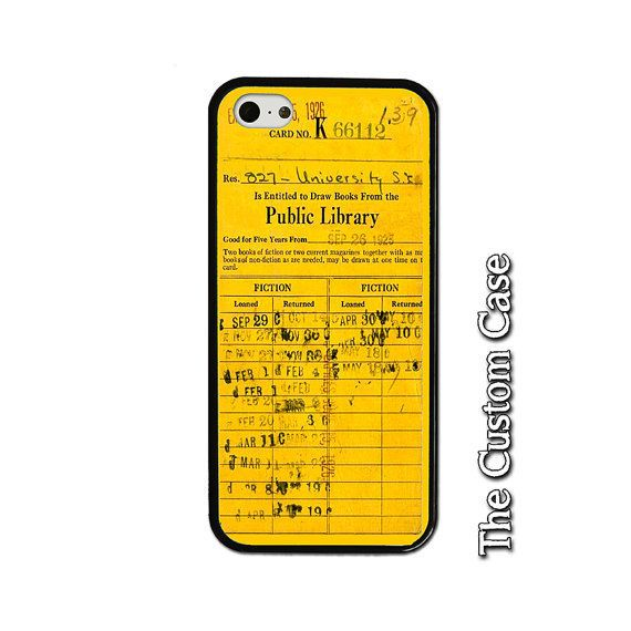 "$9.99.&nbsp;<a href=""https://www.etsy.com/listing/239213776/library-due-date-card-phone-case-book?utm_source=google&amp;utm_m"