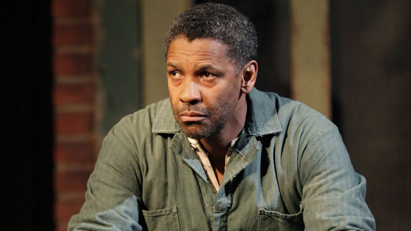 Denzel Washington in <em>Fences</em>