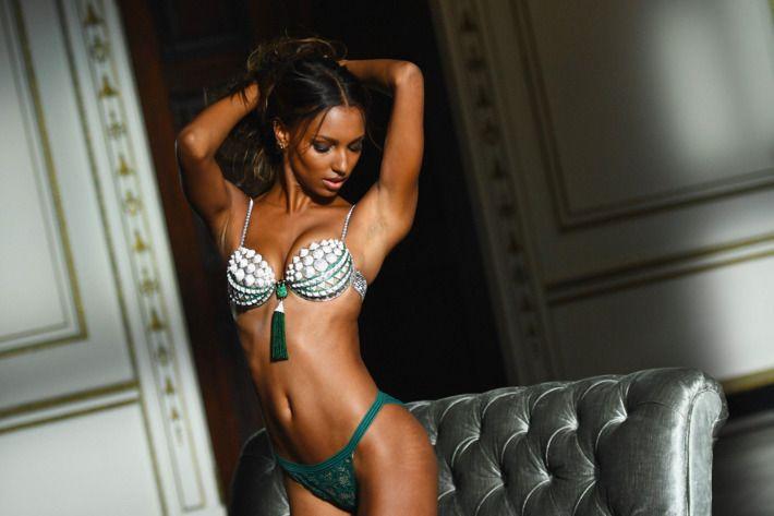 Jasmine Tookes for Victoria's Secret.