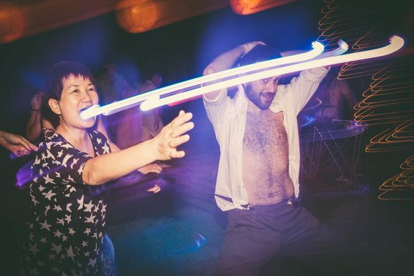 """""""Accidentally made a laser light show come out of this woman's mouth."""" -- <i>Erica Camille</i>"""