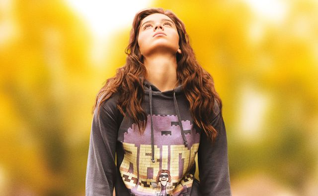 Hailee Steinfeld in <em>The Edge of Seventeen</em>