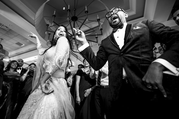 """""""Singer Benny Dayal has many chart-toppers to his name. At Benny and Catherine's reception when the DJ played 'Badtameez Dil'"""