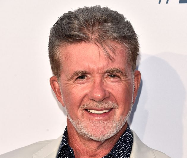 Actor Alan Thicke, seen here in August, was best known for his role as dad Jason Seaver on the 1980s...