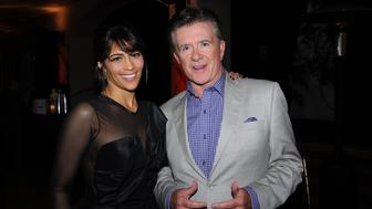 SANTA BARBARA, CA - JANUARY 24: Actors Paula Patton and Alan Thicke attend the opening night gala af the 28th Santa Barbara International Film Festival at on January 24, 2013 in Santa Barbara, California.  (Photo by Ray Mickshaw/WireImage)