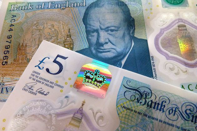 Four of the new £5 notes have been engraved with an image of Jane