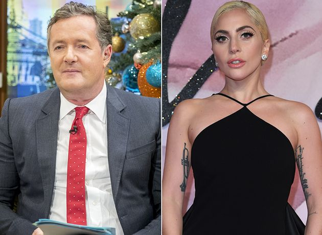 Piers Morgan and Lady