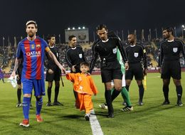 'Little Messi' Afghan Boy Finally Meeting His Hero Is The Sweetest Thing You'll See Today