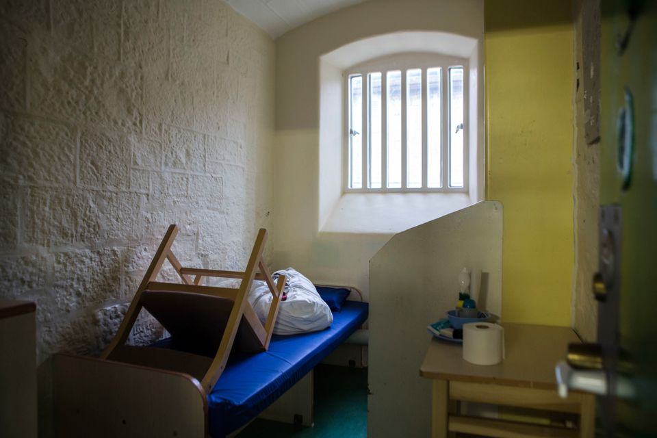 A cell awaits a new inmate at a prison in