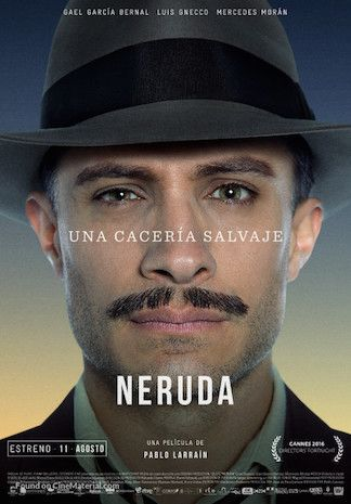 Gael García Bernal in <em>Neruda</em>