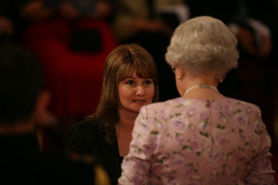Jane Walker wasmade an MBE by Queen Elizabeth II in
