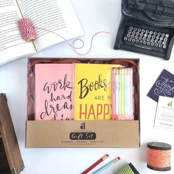 "$59.00.&nbsp;<a href=""https://www.etsy.com/listing/488501993/book-lovers-gift-set-2017-planner?ref=shop_home_active_3"" target"