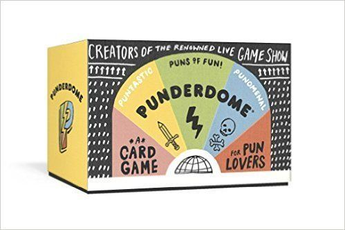 "$18.00.&nbsp;<a href=""https://www.amazon.com/Punderdome-Card-Game-Pun-Lovers/dp/1101905654?tag=thehuffingtop-20"" target=""_bla"