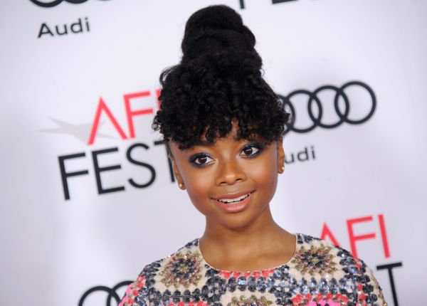 Disney actress Skai Jackson is a remarkable role model thanks to her self-confidence.She was a good sport when the inte