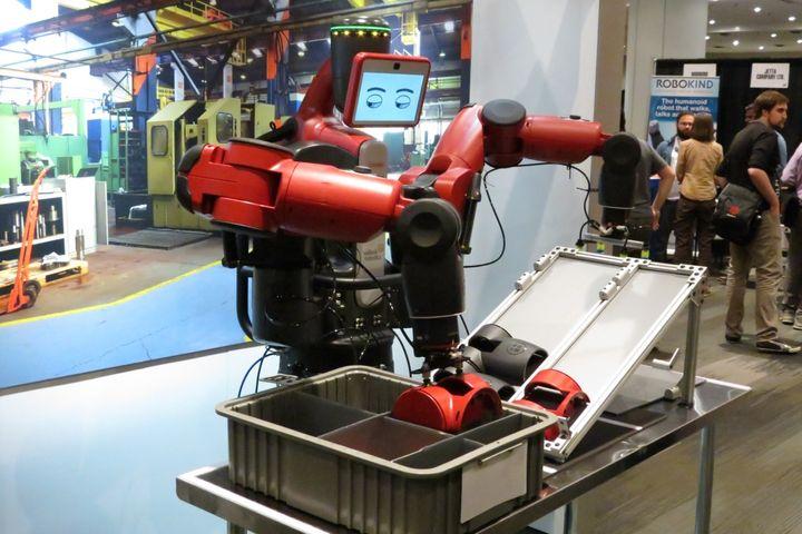 Baxter, the blue-collar robot