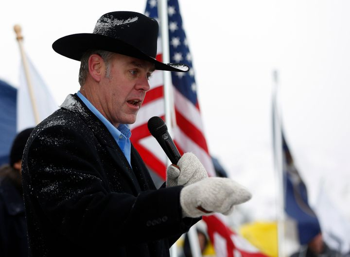 Rep. Ryan Zinke (R-Mont.) appears to be Donald Trump's choice to lead the Department of the Interior.