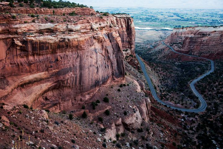 A rock formation at the Colorado National Monument, which Zinke would oversee.