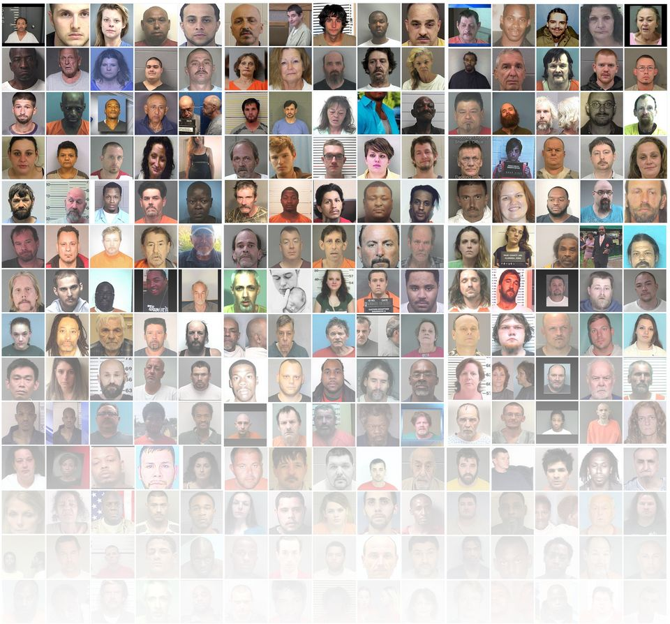 Photographs of some of the people who died in jails across the United States from July 13, 2015, to July...