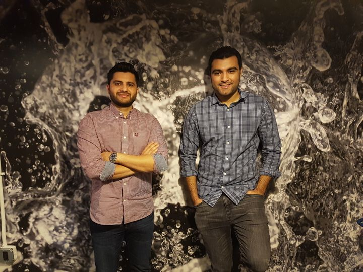 Ahsen Saber, co-founder and COO (left), and Mohsin Memon, co-founder and CEO