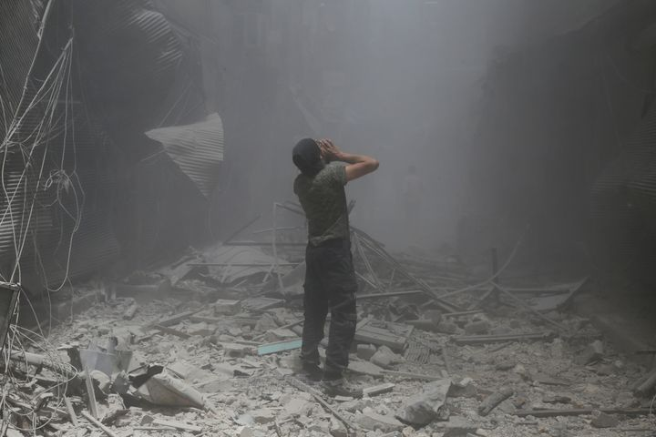 The conflict has killed nearly half a million Syrians in less than seven years.