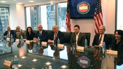 Trump Meets With Silicon Valley Tech Titans At His Manhattan