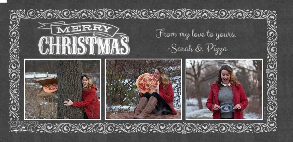 This Holiday Card Is A Single Lady's Love Letter To