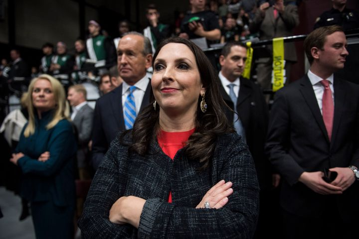 Ronna Romney McDaniel has Donald Trump's backing to become chairwoman of the Republican National Committee.