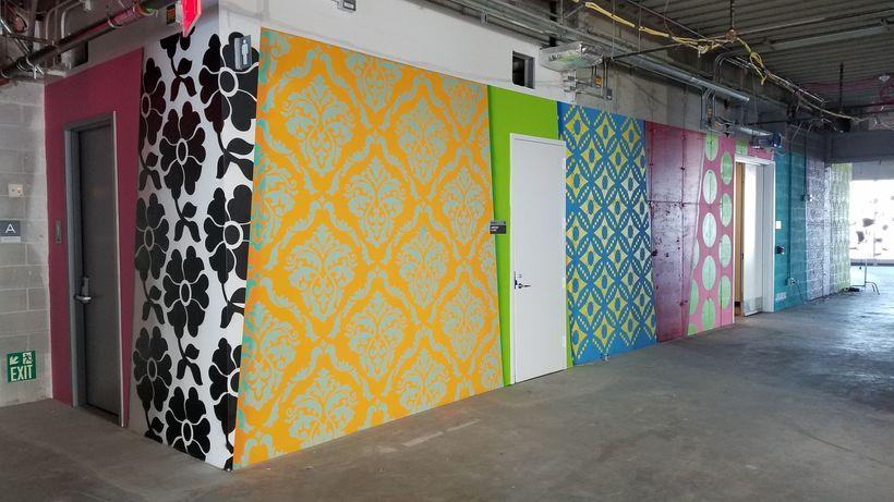 mural at 4 World Trade