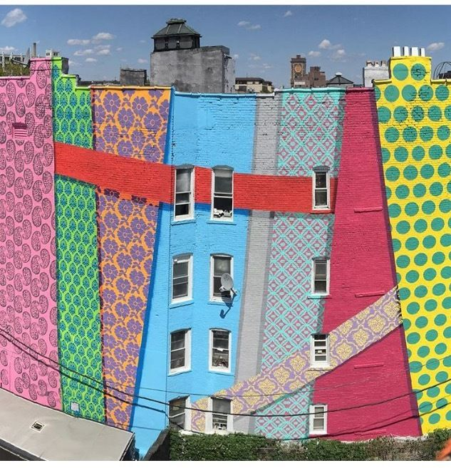 mural in Jersey City, New Jersey