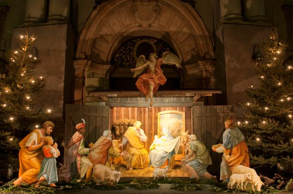"""St. Francis of Assisi is credited with <a href=""""http://www.slate.com/articles/life/holidays/2012/12/nativity_scene_history_wh"""