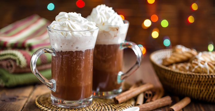 You can have the hot cocoa. But you might not be able to get the whipped cream due to a shortage of the gas used in the spray cans.