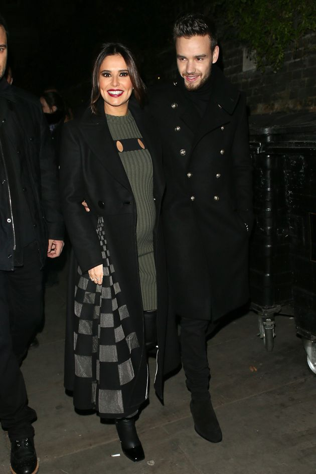 Cheryl did little to quash rumours when she attended an event with Liam last