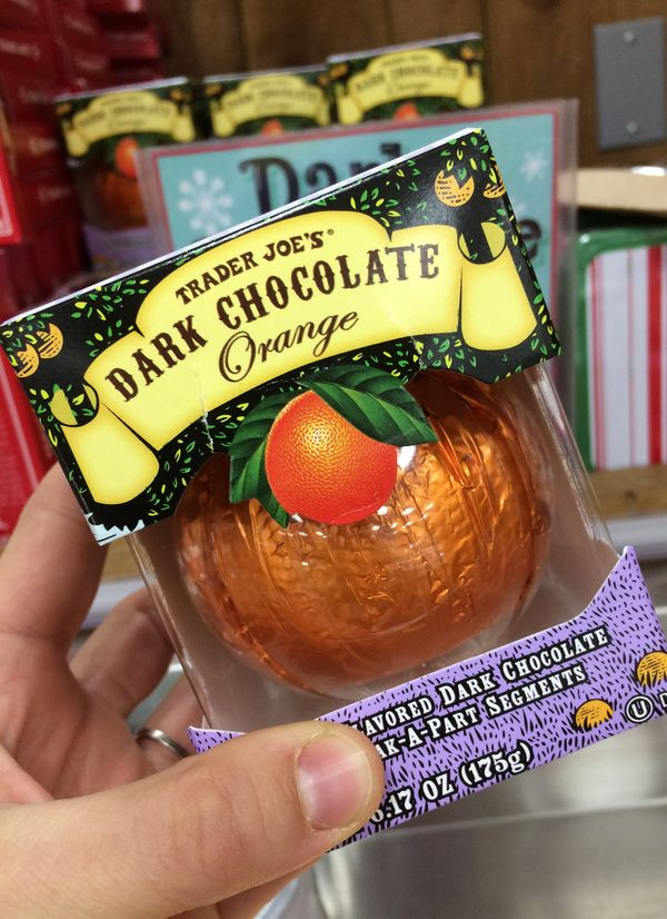 We want all the dark chocolate oranges.