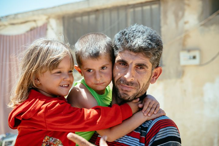 Ziad, a Syrian refugee in Lebanon, worries about his children's future.