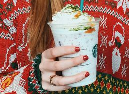 We Got Brave And Tried The New Starbucks Fruitcake Frappuccino