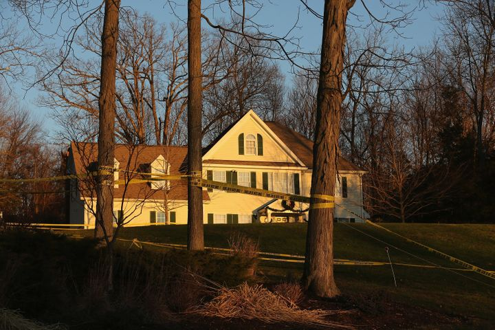 The house where Adam Lanza shot his mother before killing 26 others at Sandy Hook Elementary School.