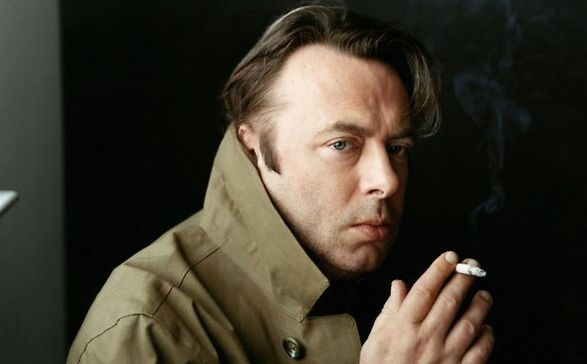 <p>Christopher Hitchens.</p>