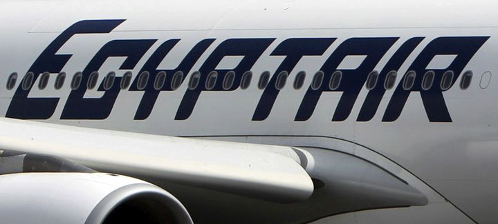 An EgyptAir plane is seen on the runway at Cairo Airport, Egypt in this September 5, 2013 file photo.