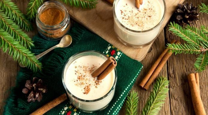 The coquito's rum base and rich, velvety texture and hints of coconutmake for arefreshing spin on classic eggnog.