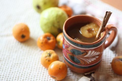 Ponche navideño is a sweetholidaypunch typically served on Christmas eve and during the nine days leading