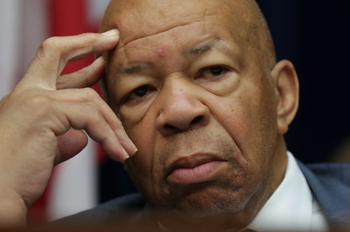 Rep. Elijah Cummings (D-Md.) convened his own hearing on Donald Trump's conflicts of interest afterRepublicansref
