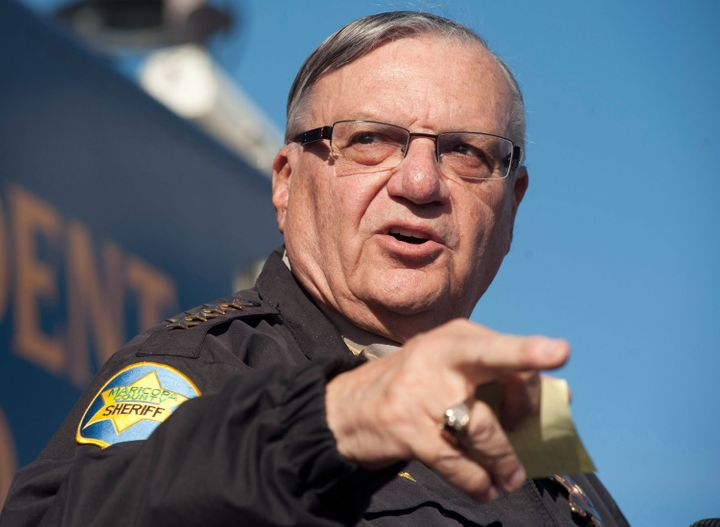Sheriff Joe Arpaio of Maricopa County, Arizona, is accused of racially profiling a Latino rights group's organizer and then keeping her in jail despite her U.S. citizenship.