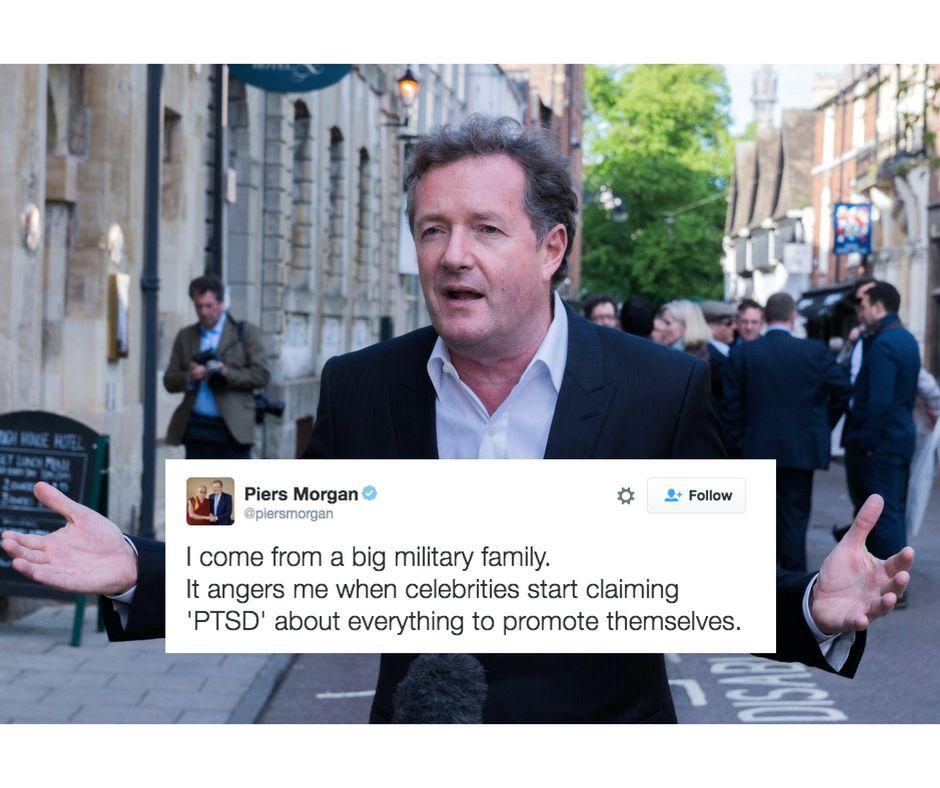 Hey, Piers Morgan: These tweetsare not okay.