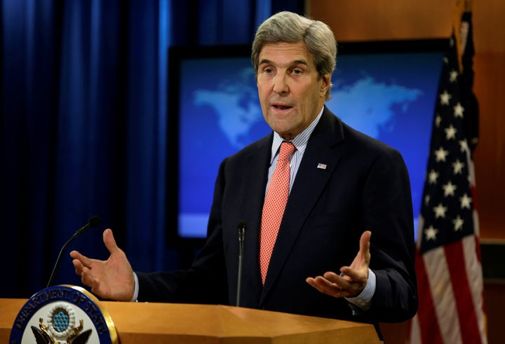 Secretary of State John Kerry defends President Obama's handling of Russian interference in the presidential election at the
